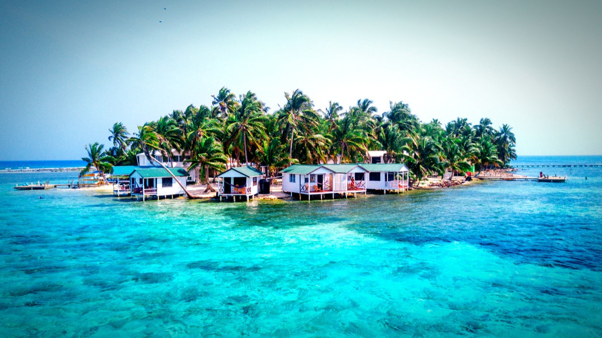 The most beautiful places of Belize