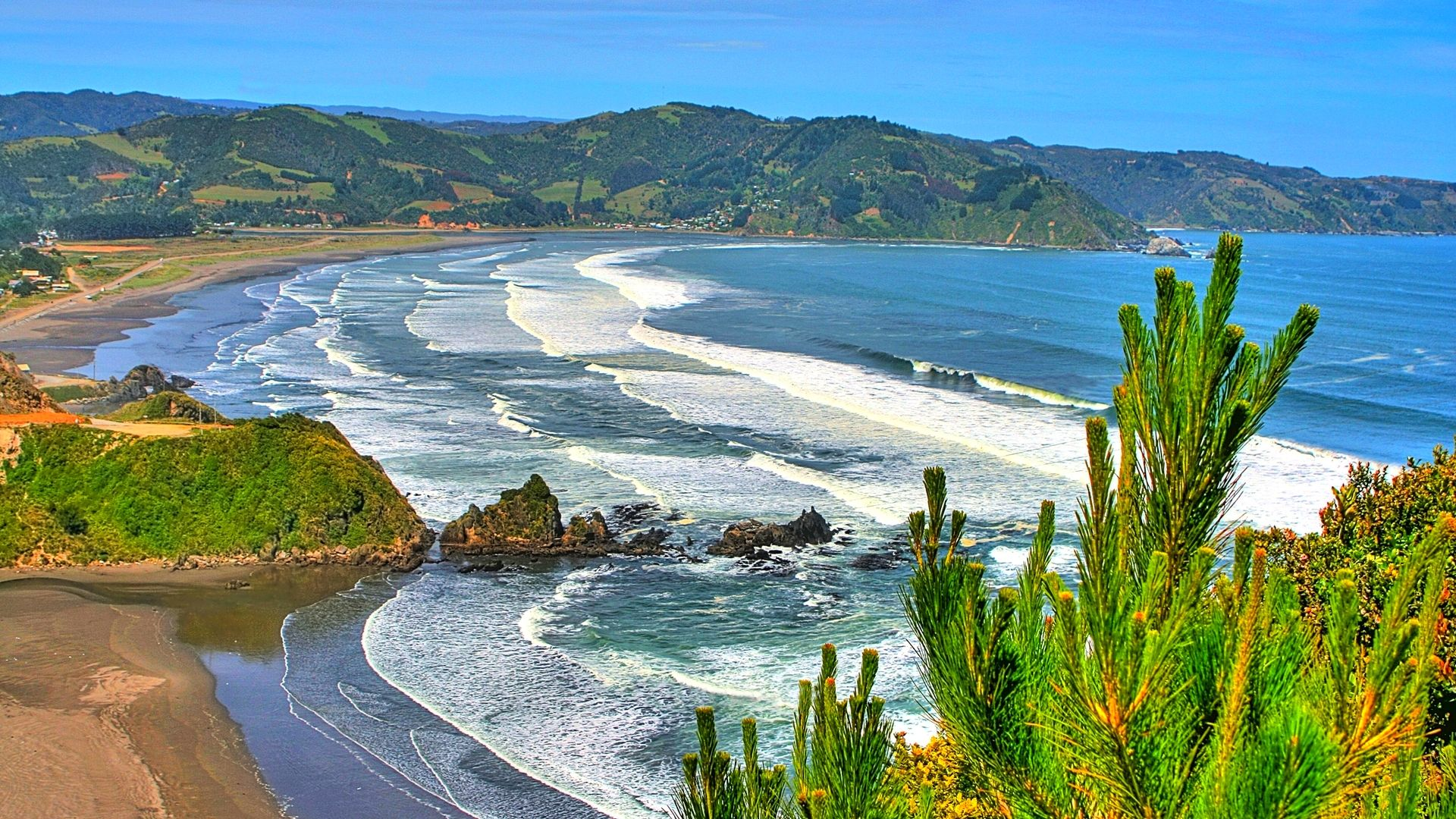 Surf Beaches Chile